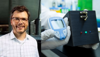 Dr Keith Pardee's team at the University of Toronto has adapted a glucose meter to detect COVID-19 and other diseases.
