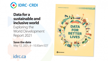Data for a sustainable and inclusive world: Exploring the World Development Report 2021
