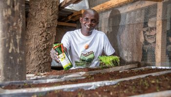 Wheatgrass farmer and processer Philip Ndwiga says financial training from CultiAF helped keep him in business. For more agripreneur survival stories, click on the profiles below.