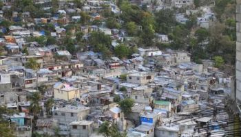 View of Port-au-Prince in Haiti, March 30, 2016.